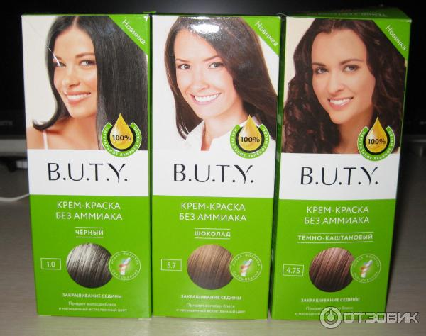 B.u.t.y краска для волос без аммиака отзывы