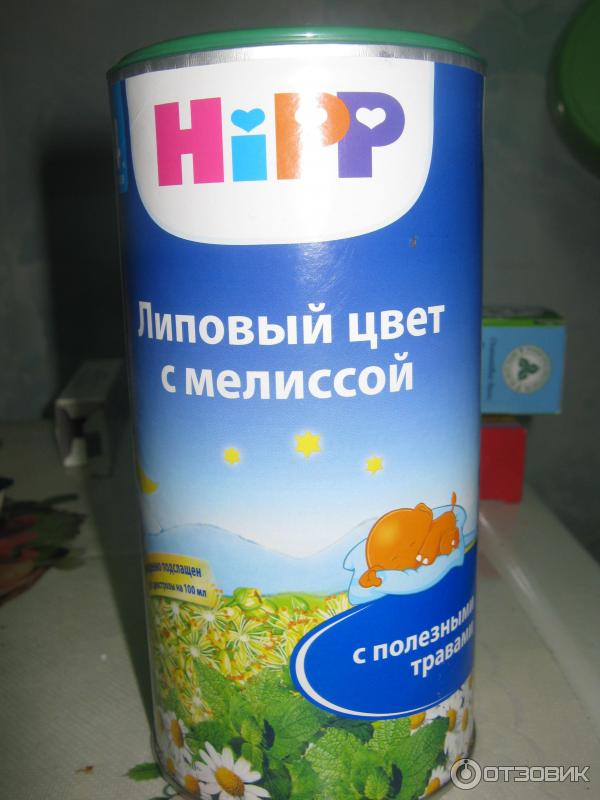 Чай хипп липовый цвет с мелиссой отзывы