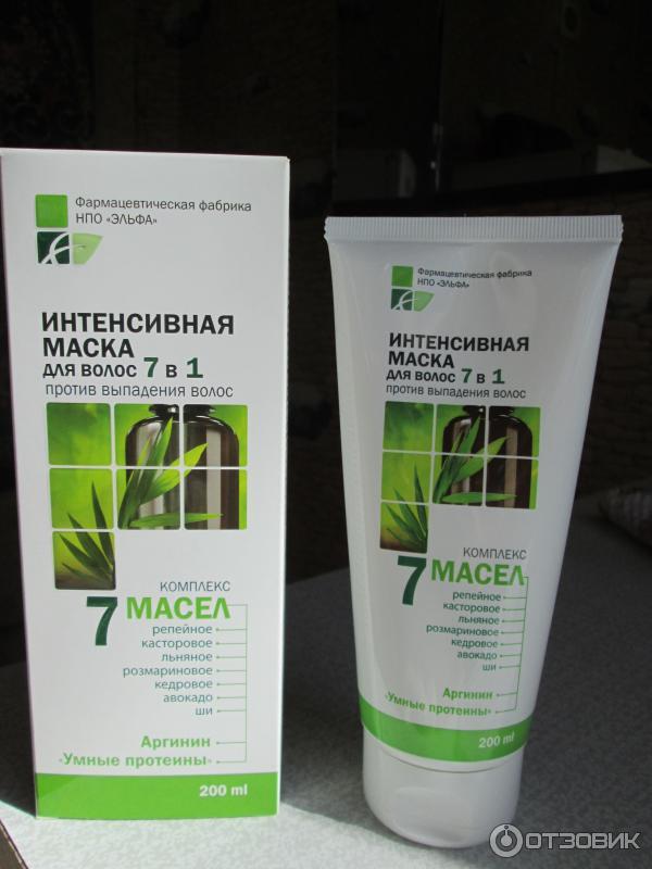 Эльфа 7 масел против выпадения волос