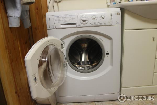стиральная машина Hotpoint Ariston Arsl 100 инструкция - фото 5