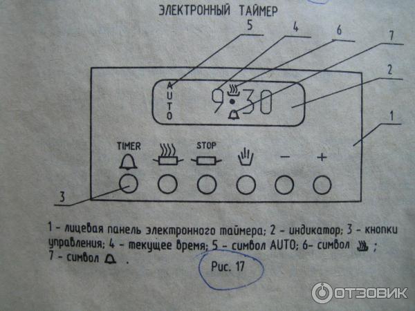 Таймер-часы ЗВИ 502