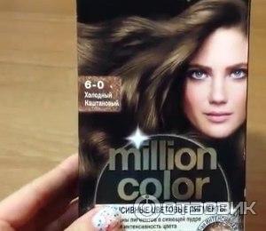 Краска для волос шварцкопф миллион колор палитра