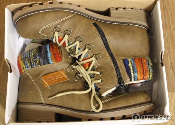26f2f41a9 Отзыв о Ботинки женские Rieker | Лёгкая, удобная и тёплая обувь