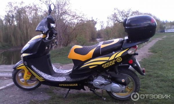 Ремонт скутеров китайский 4 тактный 50 куб