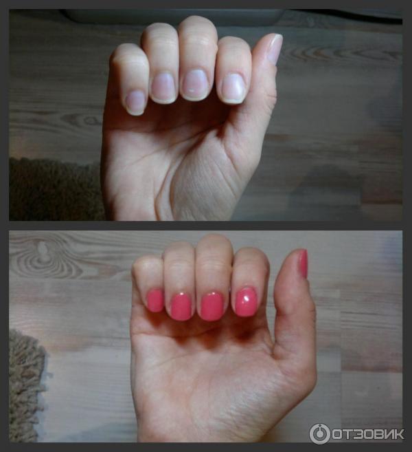 гель лак до и после фото