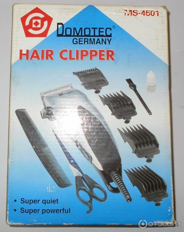 Отзывы машинка для стрижки волос domotec