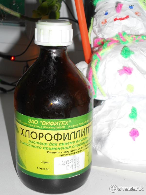Хлорофиллипт в домашних условиях 125