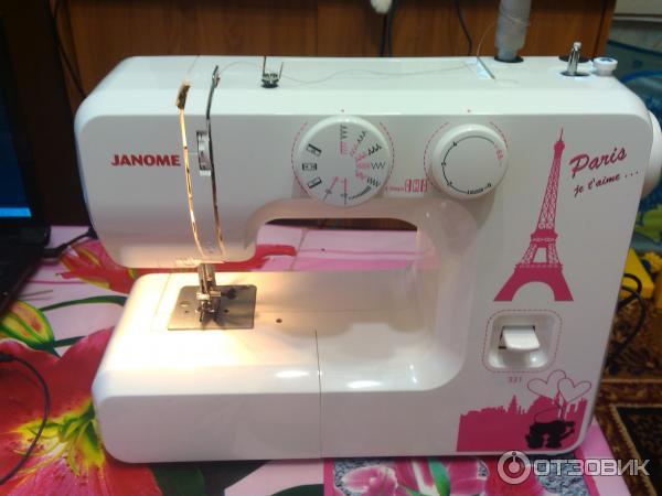 Janome 331 инструкция - фото 4