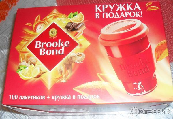 Чай brooke bond кружка в подарок 53