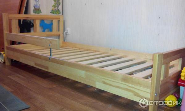 отзыв о каркас кровати с реечным дном Ikea криттер кровать на 5