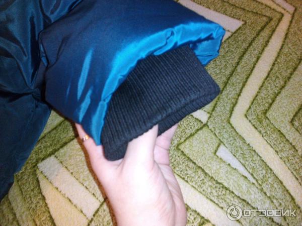 Как сделать на рукаве резинку