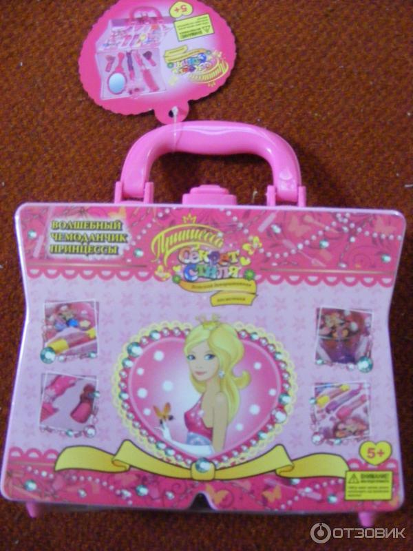 Набор декоративной косметики принцесса волшебный чемоданчик
