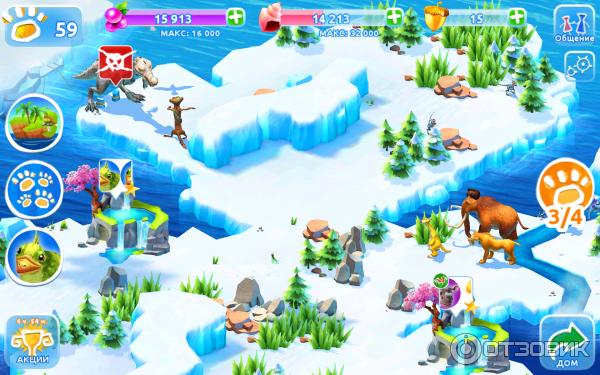 Ледниковый Период Приключения Андроид скачать
