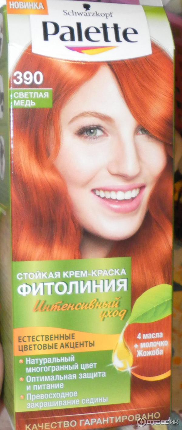 ярко рыжие краски для волос