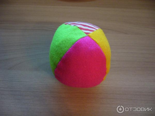 Мягкий мяч для малышей своими руками 60