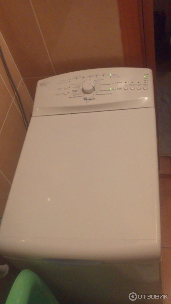 Ремонт стиральных машин whirlpool с вертикальной загрузкой  262