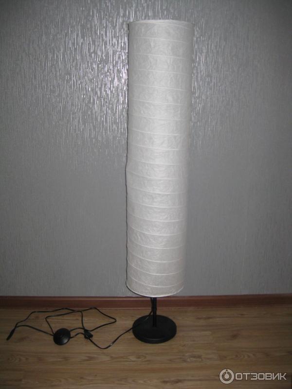 Напольные светильники из бумаги