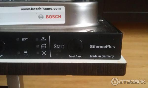 посудомоечная машина bosch встраиваемая ошибки