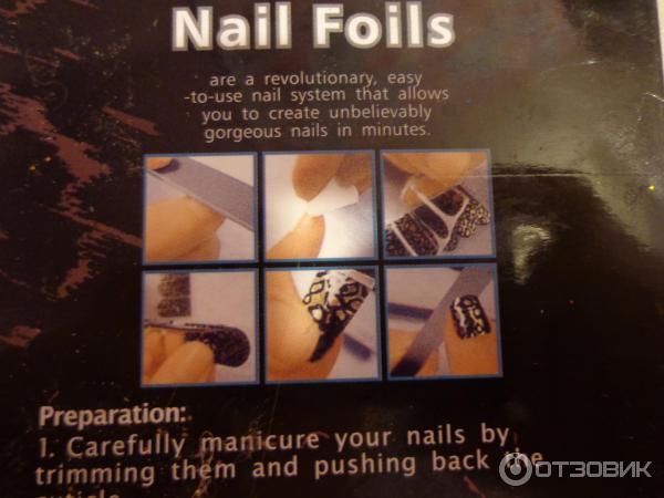 Nail Foils инструкция на русском - фото 11