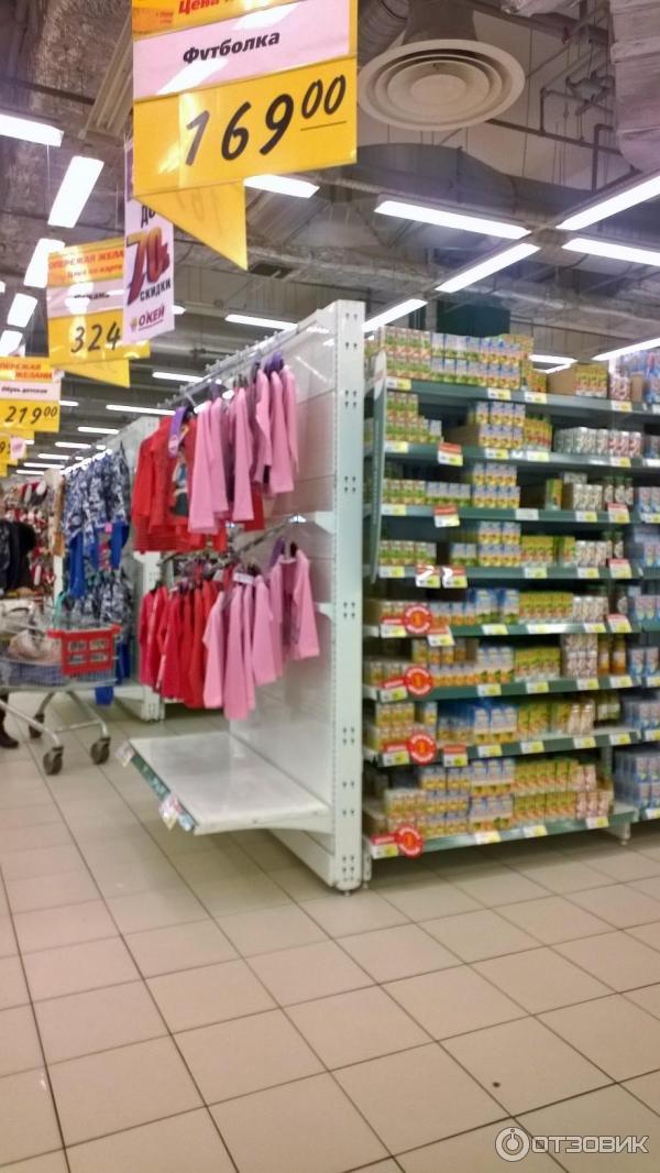 отзыв о сеть гипермаркетов окей россия мытищи очередной