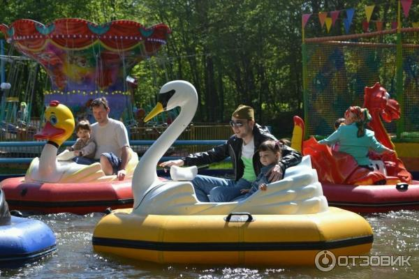 парк люблино лодки