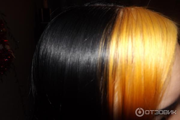 Обесцветить крашеные черные волосы в домашних условиях