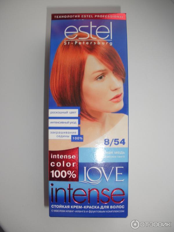 Красная медь краска для волос