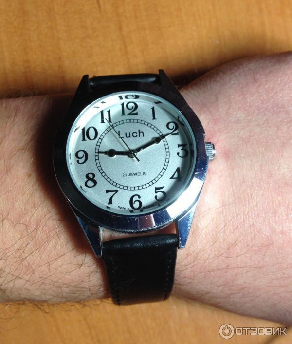 Отзыв: Наручные мужские часы Luch 21 Jewels - Удобные и надежные часы