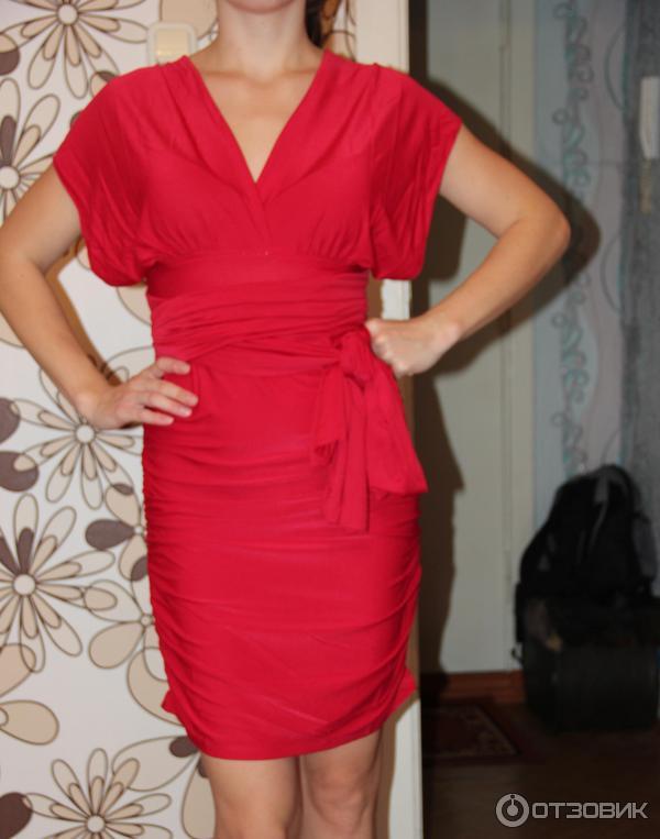 Платье трансформер красное эйвон