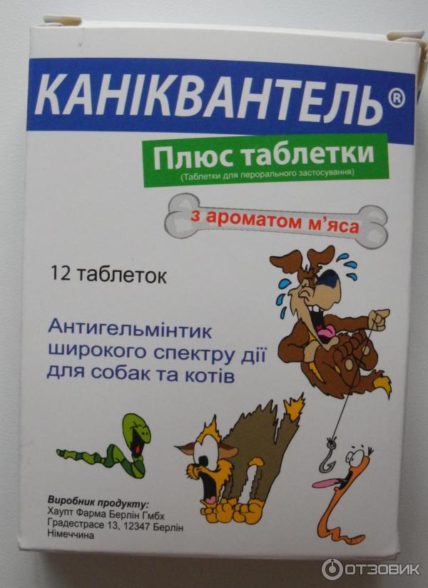 Каниквантел плюс для собак: инструкция по применению, цена, отзывы.