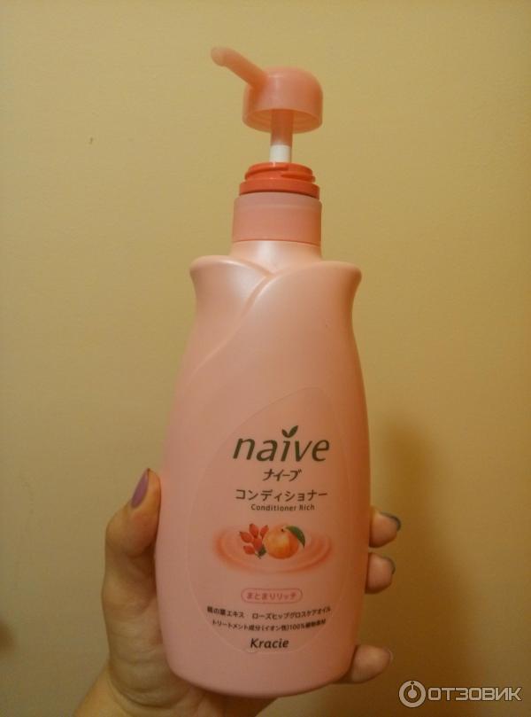 Отзыв о бальзам-ополаскиватель для сухих волос kracie naive восстанавливающий Японская косметика восхитительна!.