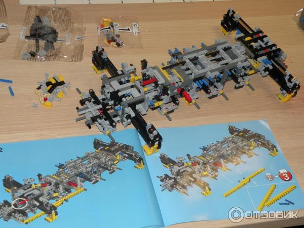 инструкция по сборке лего 42009 - фото 5
