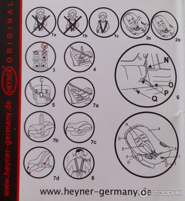 Детское автокресло Heyner