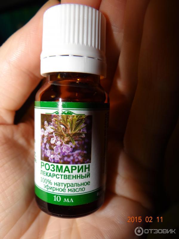 Эфирное масло розмарина для кожи