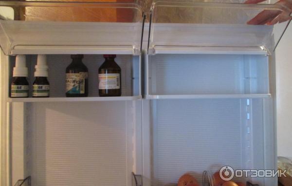 Все полочки холодильника