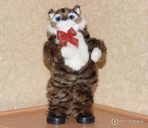 Музыкальный кот игрушка
