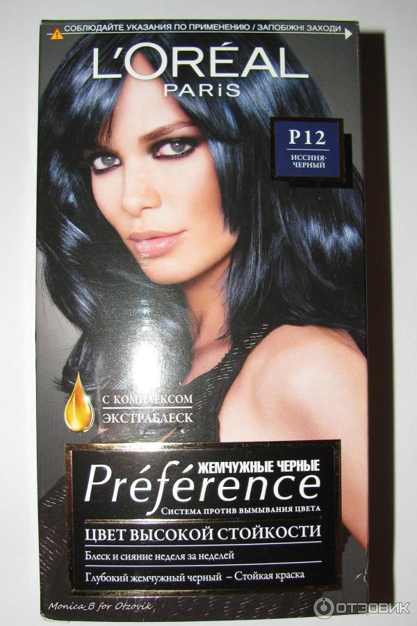 Краска для волос голубого цвета