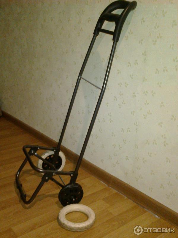 Тележка хозяйственная для сумки+ запасные колеса.