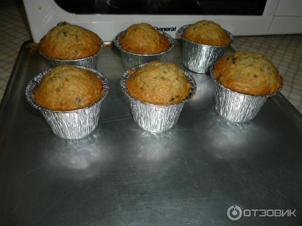 Рецепты кексов в алюминиевых формочках