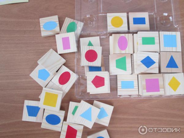 Лото с геометрическими фигурами 37