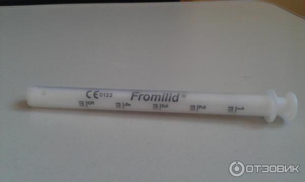 антибиотик фромилид пить или не пить держать