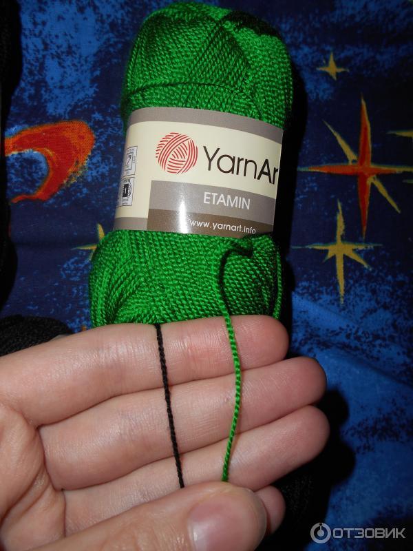 Пряжа для вязания этамин