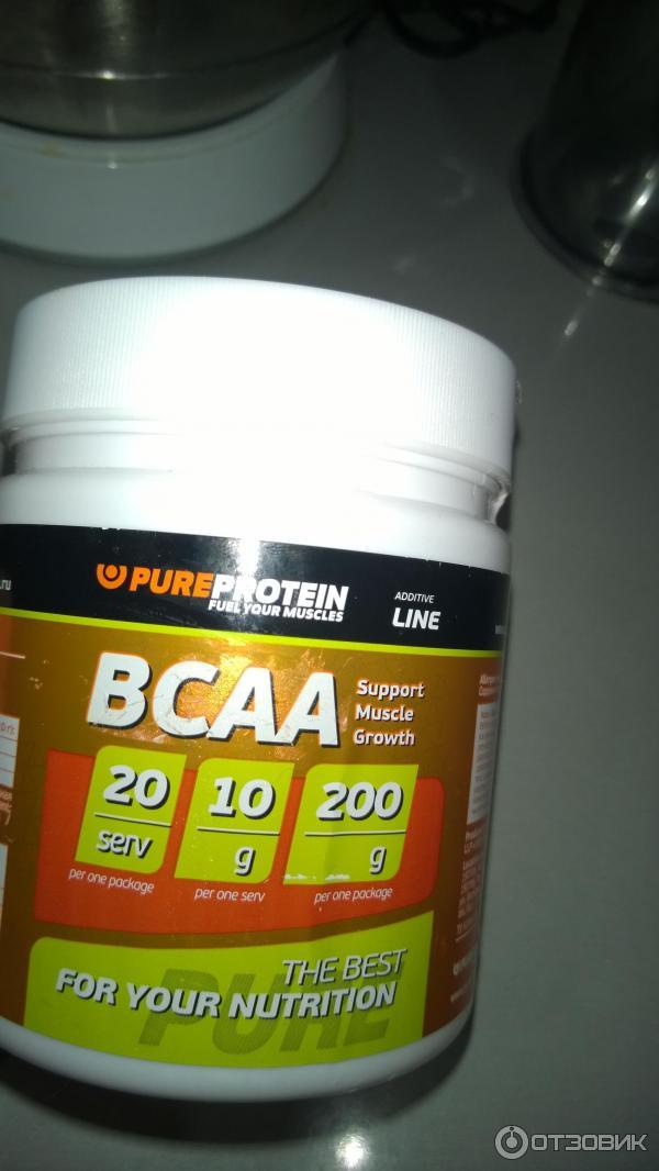 PureProtein BCAA (2 g) – цена, отзывы, фото – купить в