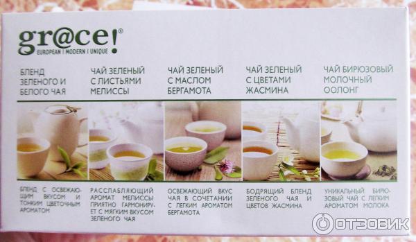 Бленд в чае