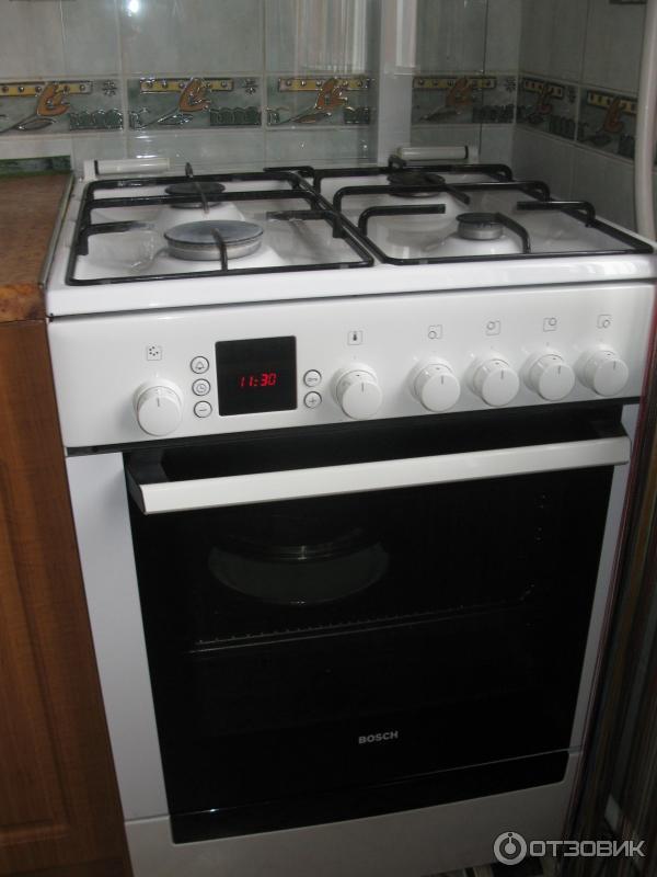 инструкция газовая плита бош с электрической духовкой - фото 3