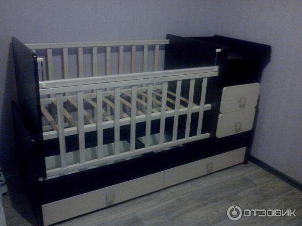 Кроватка-трансформер Ульяна-4