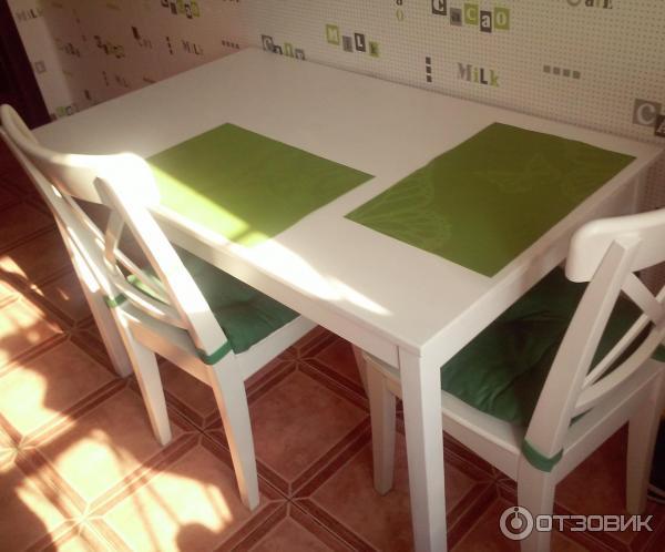отзыв о обеденный стол Ikea олмстад мой почти идеальный стол