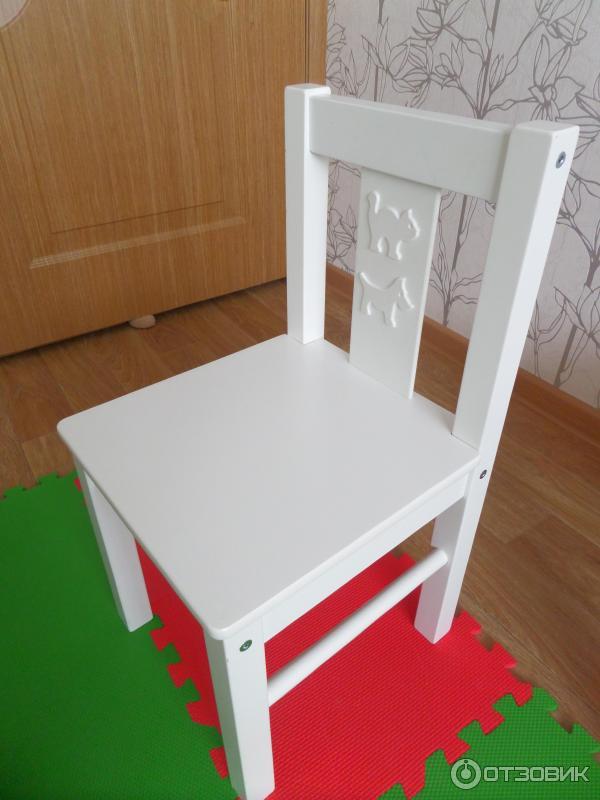 отзыв о детский стул Ikea криттер любимый стул дочери
