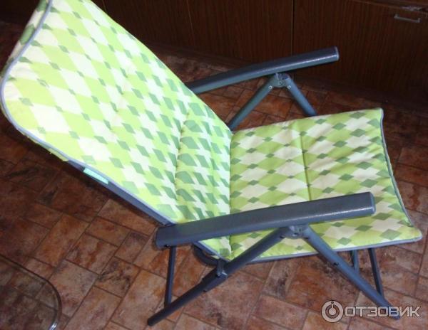 Отзыв о кресло cmi deluxe складное металлическое оно просто .