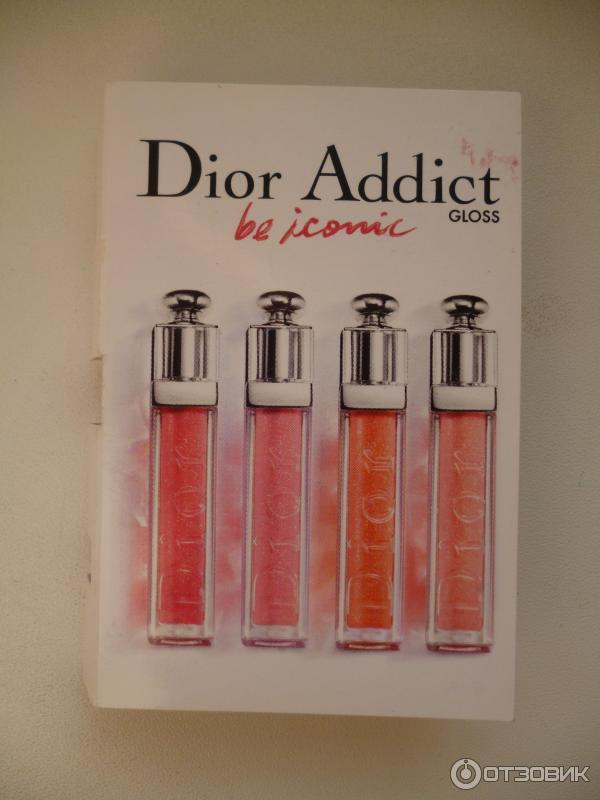 Dior addict gloss блеск для губ отзывы